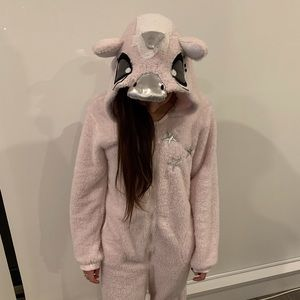 Other - Unicorn Onesie Small Adult Pink